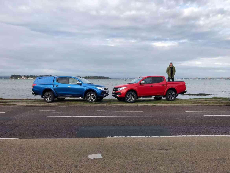 Durch Südengland mit dem Fiat Fullback