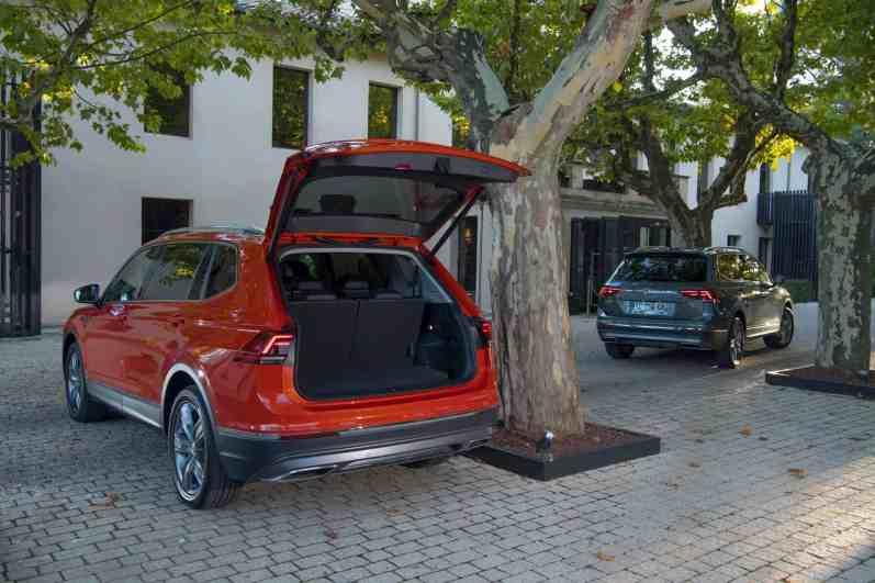 VW Tiguan Allspace , Kofferraum