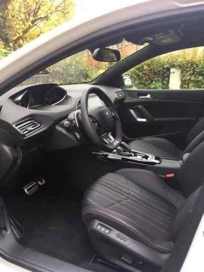 Peugeot 308 Innenraum