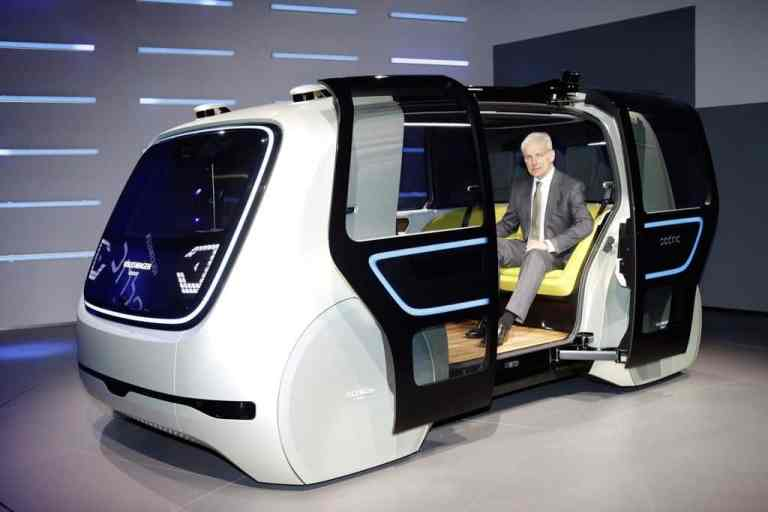 VW präsentiert Konzeptfahrzeug Sedric der Öffentlichkeit