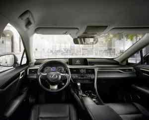 Lexus RX mit verschärftem Auftritt