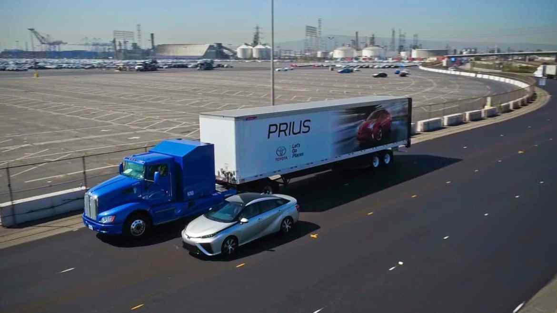 Toyota Brennstoffzellen-Kraftwerk