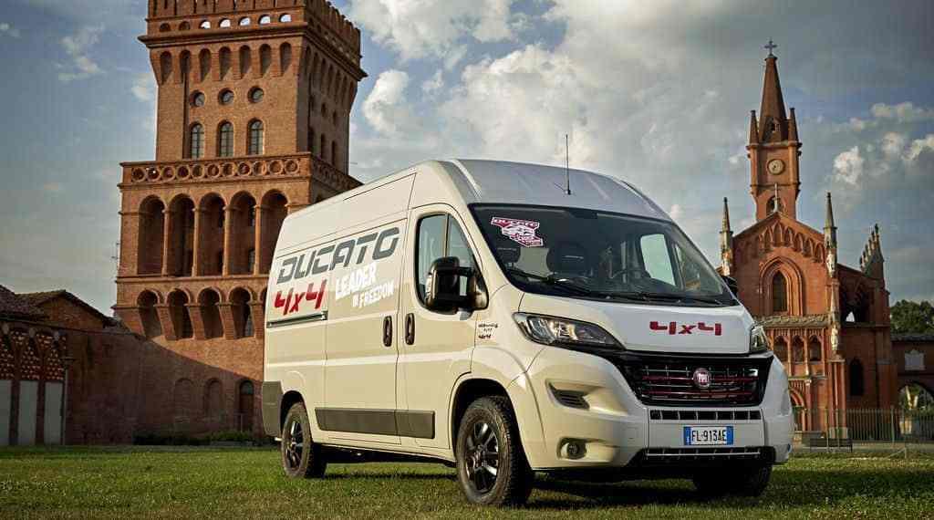 Fiat Ducato jetzt auch mit Allradantrieb