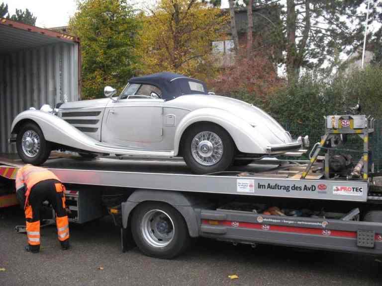 Millionenschwere Mercedes-Restaurierungen bei Kienle