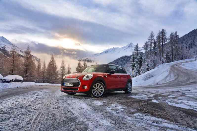 Mini Cooper D mit neuem DSG im Schnee, Günter Sch