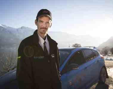 Blauer Blitz: Ford Focus RS in Norwegen als Taxi unterwegs