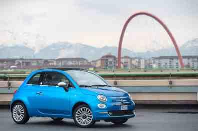 Fiat 500 Blau