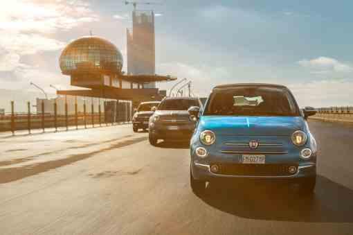Fiat 500 Mirror, Fiat 500 X Mirror und Fiat 500 L Mirror