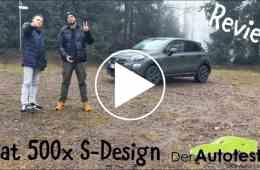 Fiat 500X SDesign