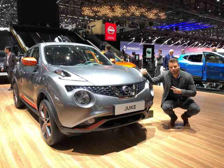 Genf 2018: Neue Auswahl für den Nissan Juke