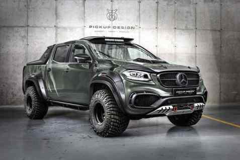 Mercedes-Benz X-Klasse mit Exy-Offroad-Kit von Carlex Design.