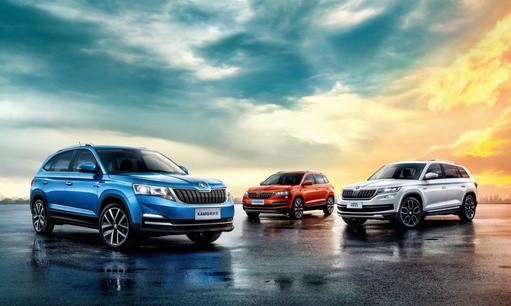 Peking: Neuer Škoda Kamiq feiert Weltpremiere
