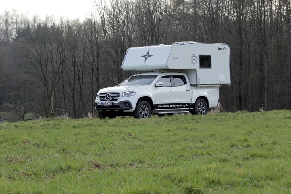 Mercedes-Benz X-Klasse mit Nordstar-Wohnkabine