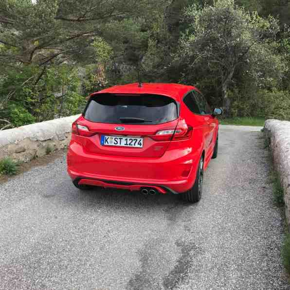 Ford Fiesta ST, Heck