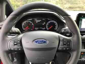Ford Fiesta ST, Lenkrad