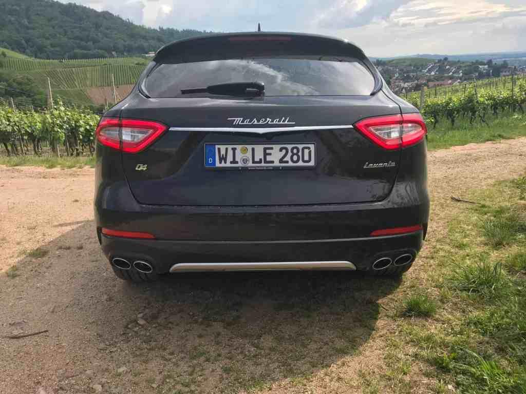 Levate Maserati SUV 2018