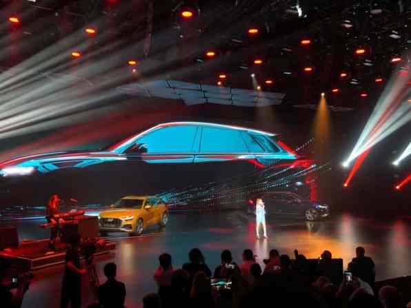 Weltpremiere Audi Q8