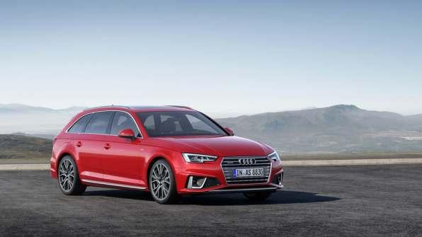 Audi A4 Avant S Line Competition.