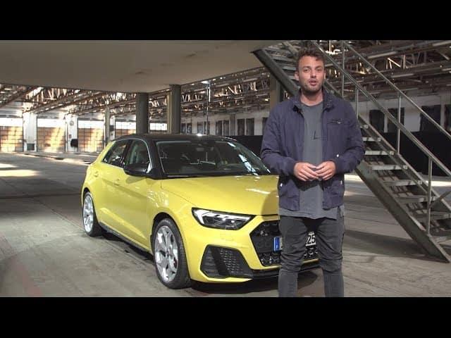 Weltpremiere: Audi A1 S-Line im Bewegtbild