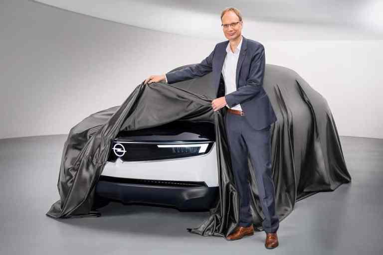 Opel GT X Experimental zeigt das neue Markengesicht