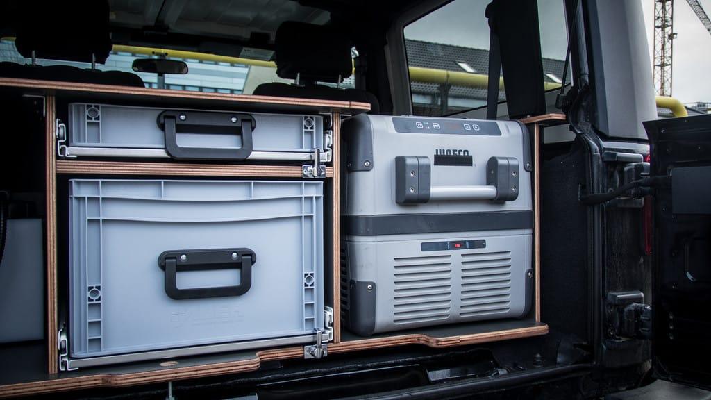 Wenn der Jeep Wrangler zum Reisemobil mutiert