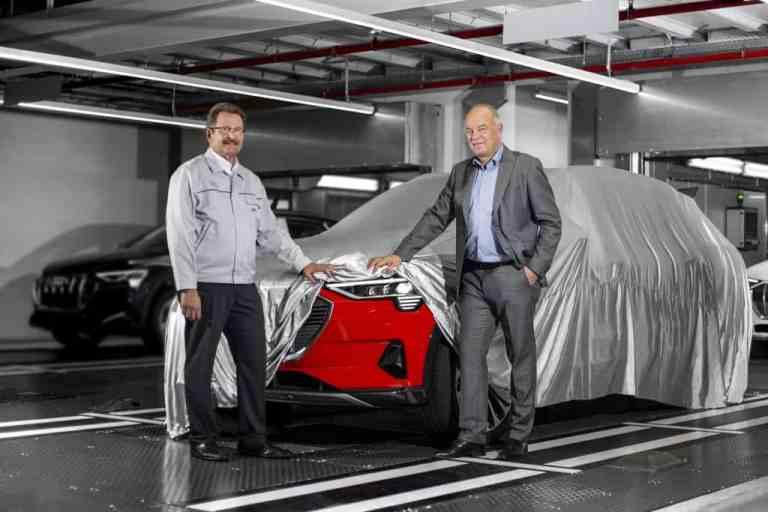 Audi startet Produktion des e-Tron
