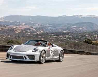 Porsche 911 Speedster Concept nun in den USA