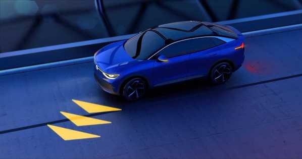 Volkswagen Studie ID. CROZZ Durch das Licht werden Fahrzeuge zu emotionalen Designobjekten.