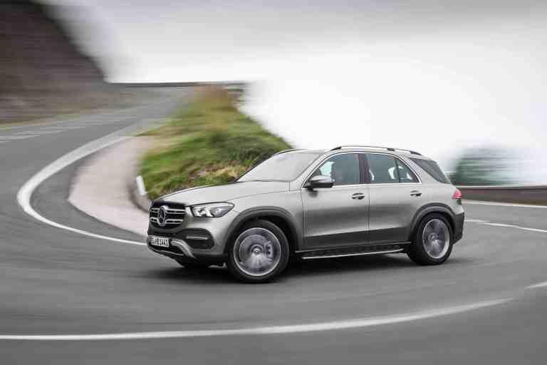 Mercedes-Benz GLE kann bestellt werden