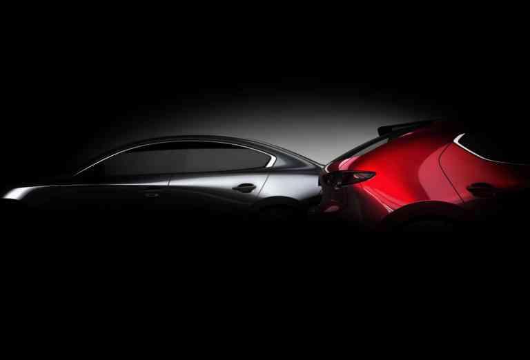 Der neue Mazda3 wird in Los Angeles vorgestellt