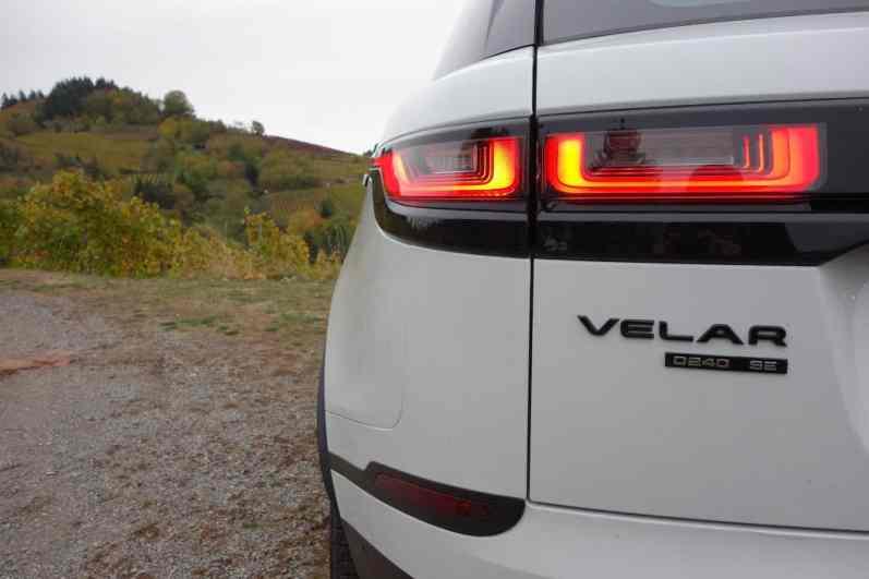 Range Rover Velar SE, Heckleuchte