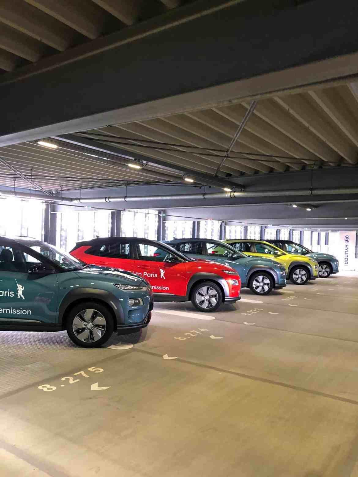 Mit dem Hyundai Kona Elektro - nonstop - von Frankfurt nach Paris