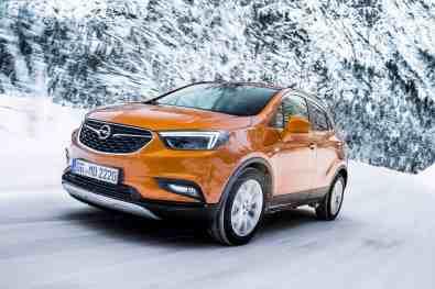 Opel-Mokka-X,Opel Winter-Training