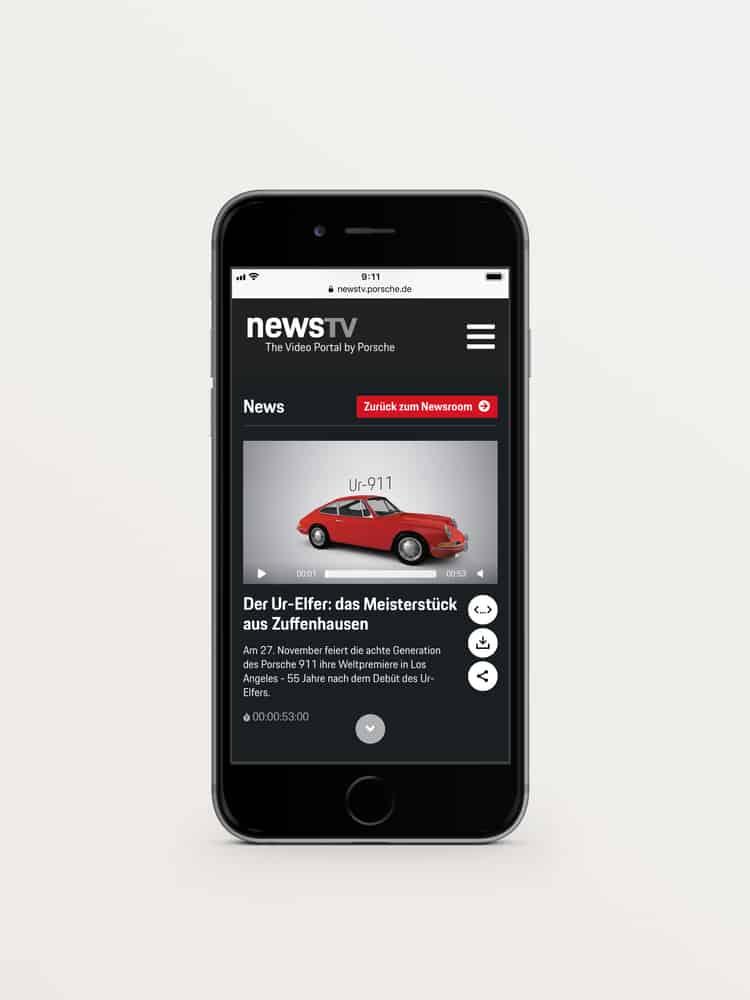 Live-Übertragung: Weltpremiere des neuen Porsche 911
