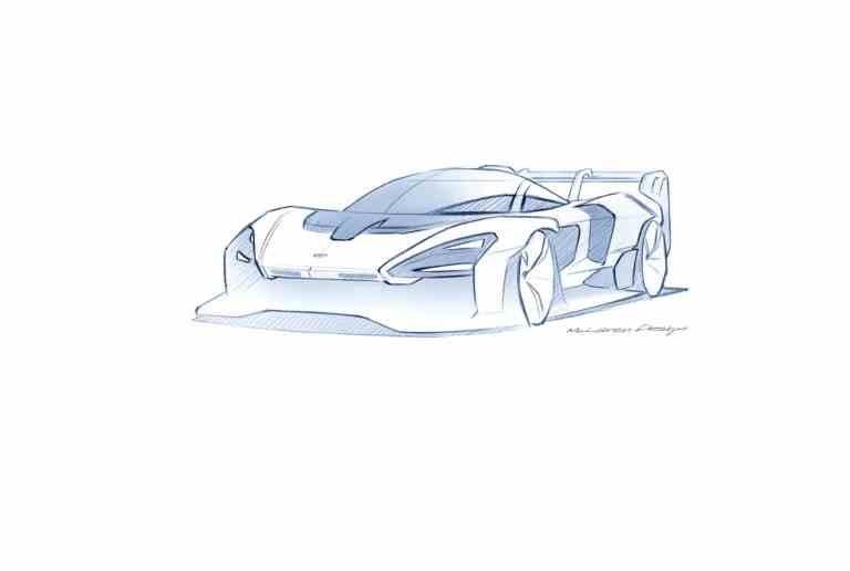McLaren Senna GTR beginnt mit dynamischen Tests