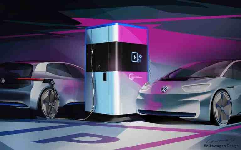 Powerbank für E-Autos – Die mobile Schnellladesäule von Volkswagen