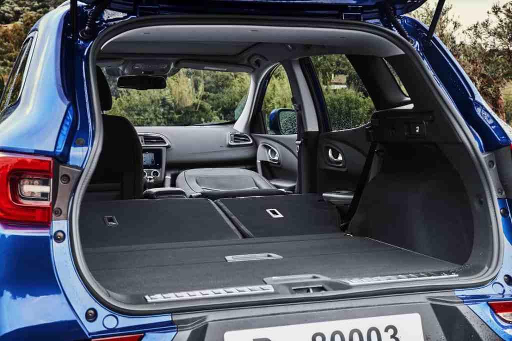 Renault Kadjar, Kofferraum