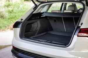 Audi e-tron, Kofferraum