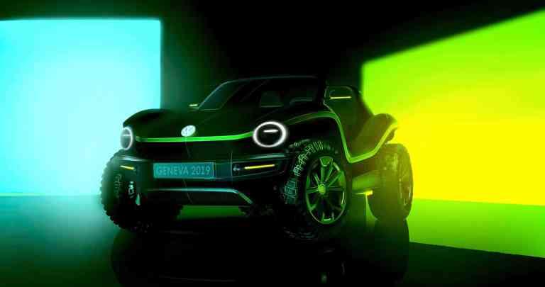 VW Buggy Studie 2019