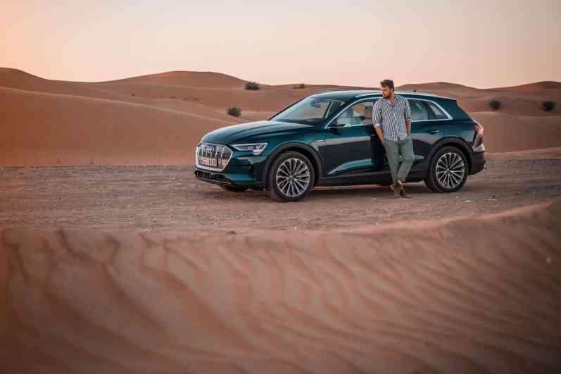 Audi e-tron; Jan Weizenecker