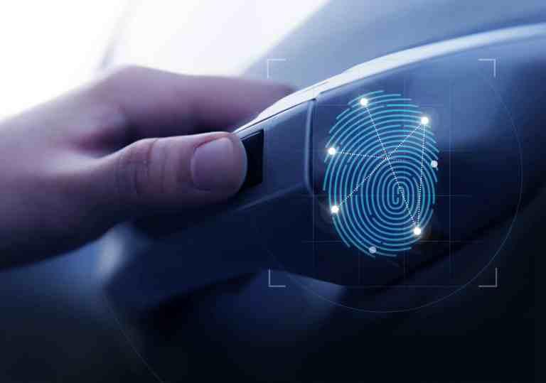 Hyundai Fingerabdruck