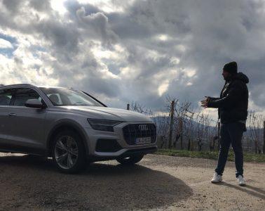 Im Audi Q8 50 TDI Quattro unterwegs in der Ortenau - Review im Video
