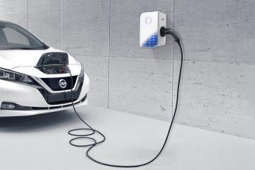 Nissan und E.ON: Lade-Wallbox für zuhause
