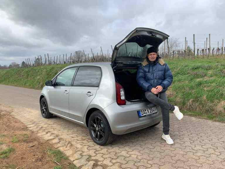 Skoda Citigo mit Erdgasantrieb, Dr Friedbert Weizenecker