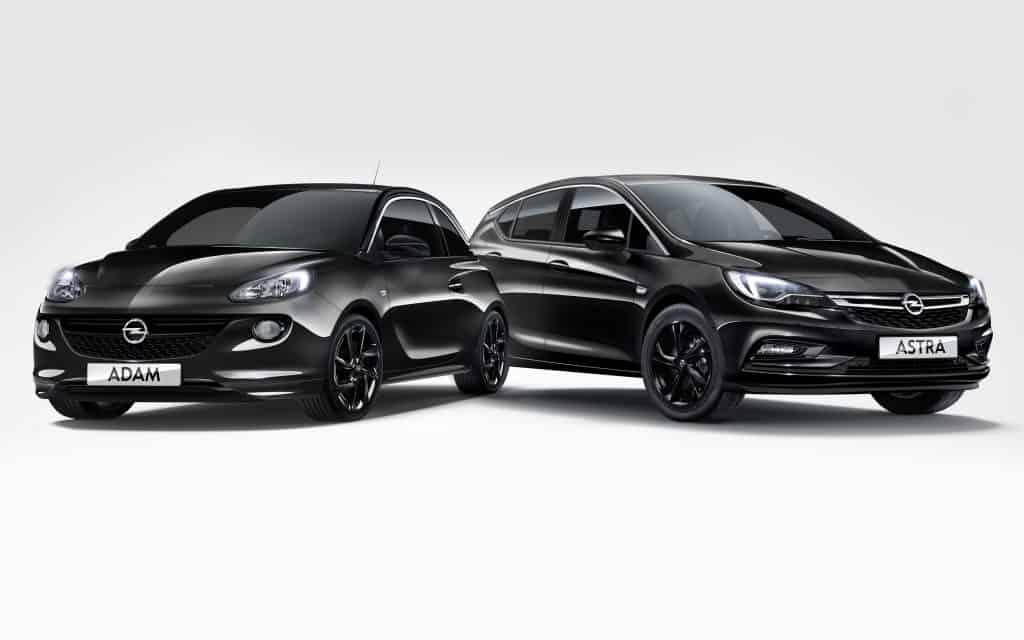Opel-Sondermodelle für BVB-Fans