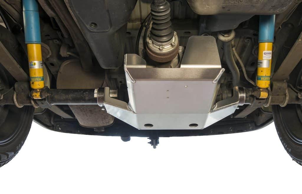 Hinterachs-Differenzial-Schutz von Seikel für den VW Caddy.