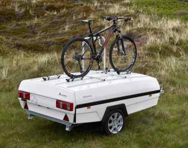 Camplet mit Fahrradträger