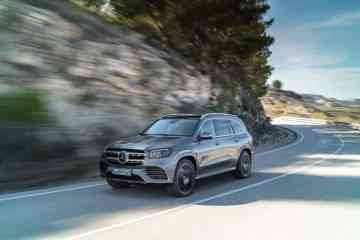 Mercedes-Benz GLS, 2019, AMG Line, designo selenitgrau metallic