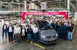 Millionster VW Sharan