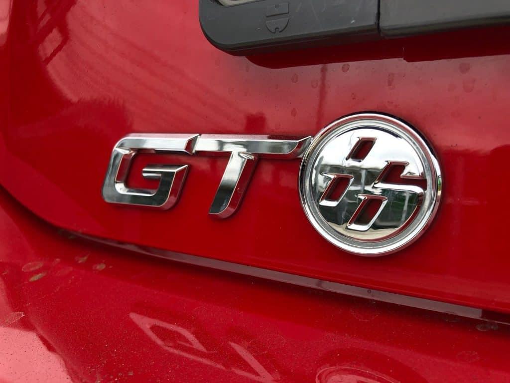Toyota GT86, Logo